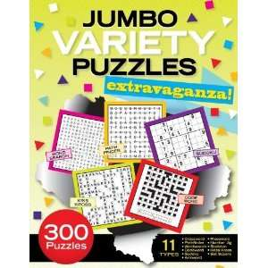 Jumbo Variety Puzzles Extravaganza! [Paperback] Patrick