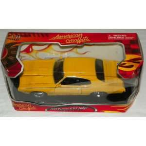 American Graffiti 1:24 Scale 1969 Pontiac GTO Judge (Preimium Metal