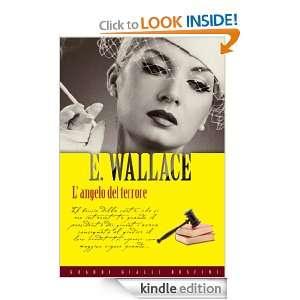 angelo del terrore (Grandi Gialli) (Italian Edition) Edgar Wallace