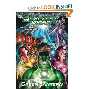 Green Lantern Blackest Night (9781401227869) Geoff Johns