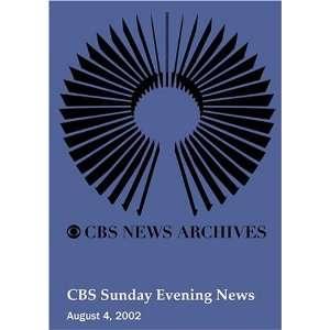 CBS Sunday Evening News (August 04, 2002): Movies & TV