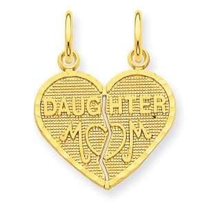 14k Break apart Mom & Daughter Charm Jewelry