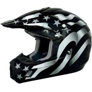 AFX Freedom Youth FX 17Y MotoX Motorcycle Helmet w/ Free B&F Heart