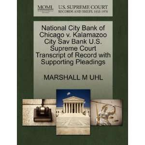 National City Bank of Chicago v. Kalamazoo City Sav Bank U.S. Supreme
