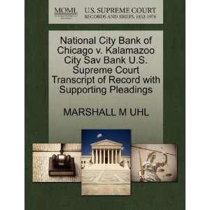 National City Bank of Chicago v. Kalamazoo City Sav Bank U.S. Supreme
