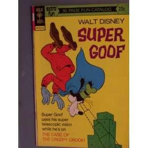 Goof Comic Book (The Case of the Creepy Crook, 28) Walt Disney Books