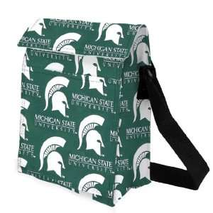 MSU Michigan State University Spartans Lunch Tote by Broad Bay