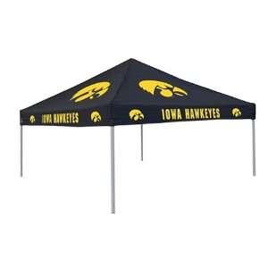 Iowa Hawkeyes Black Tailgate   Gameday Canopy Tent
