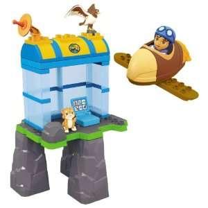 Mega Bloks Diegos Buildable Hawk Rescue Toys & Games
