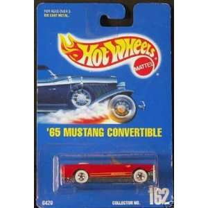 Red 5 Spoke Wheels Collectible Collector Car Mattel Hot Wheels  Toys