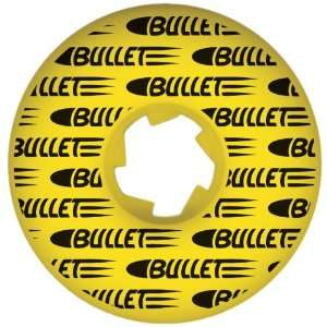 BULLET Split Shot Yellow Wheels 52mm:  Sports & Outdoors