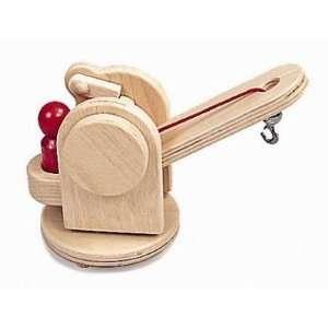 NIC Wooden Toys   Creamobil Wrecking Crane: Toys & Games