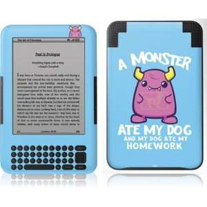 Skinit A Monster Ate My Homework Vinyl Skin for