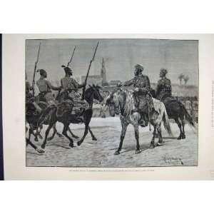 1887 British Mission Morocco Parade Sultan Fine Art: Home