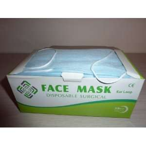 Disposable Earloop Face Mask Blue