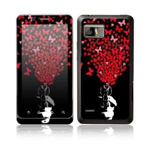 Droid Bionic Decal Skin Sticker  The Love Gun Everything Else