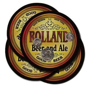Rolland Beer and Ale Coaster Set:  Kitchen & Dining
