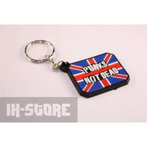 Punks Not Dead Keychain Office Products