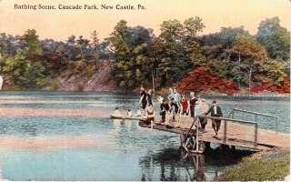 1911 CASCADE PARK AMUSEMENT PARK