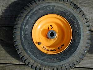 13 Poulan Pro Riding Lawn Mower Front Wheel/Tire 15x6.00 6NHS