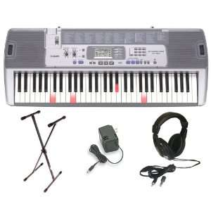 Casio LK 100 Lighted Keyboard with Premium Accessories
