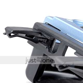 In Car Air Vent Drink Can Bottle Cup Holder Stand Blue