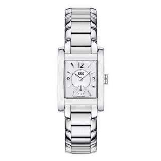 Ladies ESQ by Movado Venture Stainless Steel Swiss Watch (Model