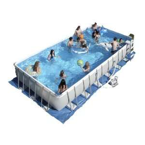 Intex Ultra Frame 32 by 16 Foot by 52 Inch Rectangular Pool