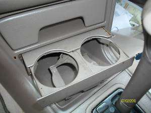 1995 TOYOTA CAMRY IN DASH CUP HOLDER INSERT, TAN