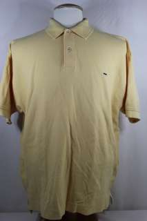 Alexander Julian Colours Yellow Polo Shirt Large