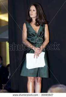 stock photo  MEXICO CITY   FEB 17  TV Personality Gloria Calzada