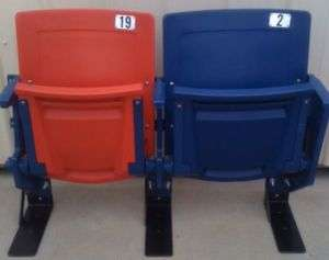 Giants Stadium seats  RED&ROYAL  Giants/Jets