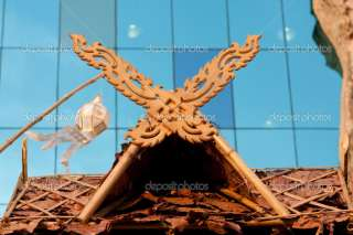 Wood carving patterns.  Stock Photo © Vachiraphan Phangphan #5121103