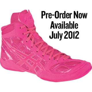 ASICS Split Second 9 Pink Wrestling Shoes or Purple Wrestling Shoes