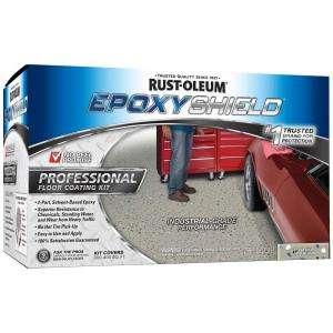EPOXYShield 2 Part Silver Gray Semigloss Industrial Epoxy Floor
