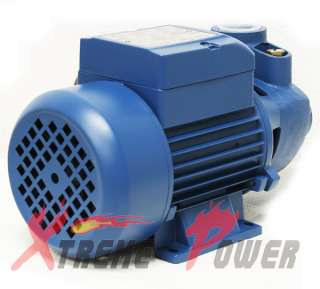 ALUMINUM 1/2 HP ELECTRIC WATER PUMP POOL FARM POND Centrifugal