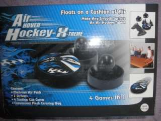 AIR HOCKEY Electronic Hover Puck Table Top Game Set