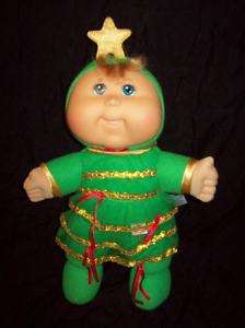 Cabbage Patch Kids CHRISTMAS TREE Plush Stuffed Baby Doll Toy