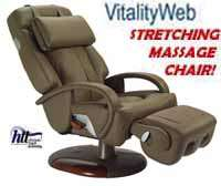 Leather Human Touch Robotic Massage Chair Recliner HT