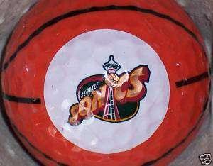SEATTLE SONICS NBA BASKETBALL LOGO GOLF BALLS