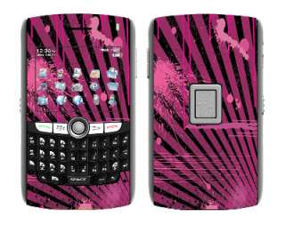 Pink Skin Vinyl Decal Wrap for BlackBerry World 8800 cell phone