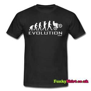 BIKING BIKE APE TO EVOLUTION T SHIRT TSHIRT MENS WOMENS BOYS GIRLS NEW