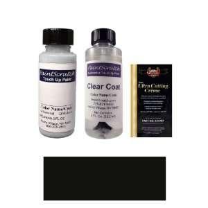 2 Oz. Black (Wheel) Paint Bottle Kit for 2011 Lincoln Town Car