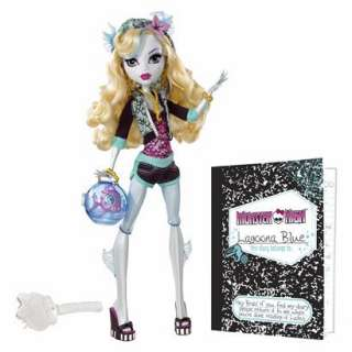 Monster High Lagoona Blue Doll and Neptuna Pet Piranha product details
