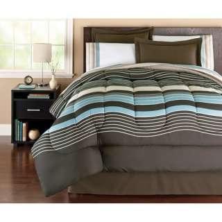 Hometrends Urban Stripe Complete Bedding Set Bedding