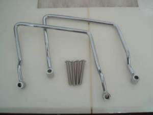 Yamaha Vstar 650 Custom Saddle Bag Rails Guard Bar