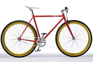 Pure Fix Cycles Fixed Gear Fixie Bike Bicycle Black Red Wheel l The