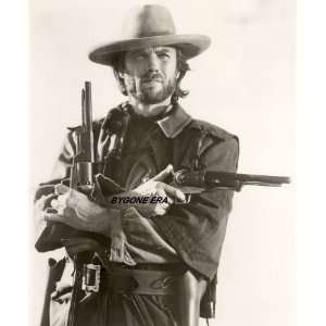 Clint Eastwood Photo Cowboy Western Picture Framed Photo