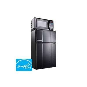 Cu Ft Energy Star Compact Refrigerator/Microwave Combo Appliances