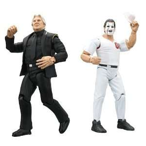 Bobby the Brain Heenan and Abe Knuckleball Schwartz Toys & Games